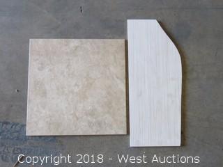 "Pallet; (24) Boxes of 18"" x 18"" Tile"