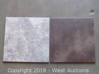 """Pallet; (13) Boxes of Assorted 18"""" X 18"""" Tile"""