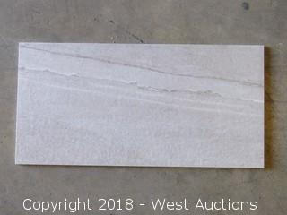 Pallet; (14) Boxes of Assorted 30 X 60 cm Tile