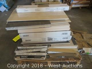 Pallet; (19+) Boxes of Assorted Tiles