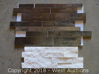 Pallet; (6) Boxes of Assorted Wall Tile