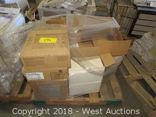 "Pallet; (18) Boxes of Assorted 12""x12"", 6""x6"", 12""x3"" and 18""x18"" Tiles"