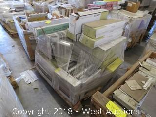 Pallet: (45+) Boxes of Assorted Tiles