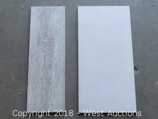 Pallet; (20) Boxes of Assorted Tiles