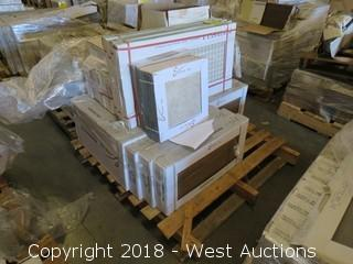 Pallet; (19) Boxes of Assorted Tiles