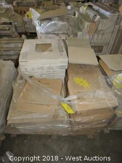Pallet; (18) Boxes of Assorted Tile