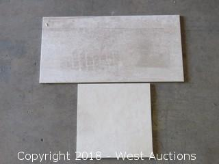 Pallet; (10+) Boxes of Assorted Tile