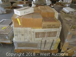 Pallet; (50+) Boxes of Assorted Tile
