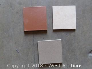 "Crate; Full 3'x3' Crate of 6""x6"" Assorted Color Tiles"