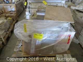 Pallet; (16) Boxes of Assorted Tiles