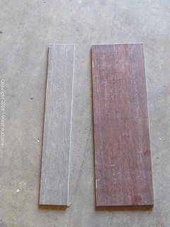 """Pallet; (24+) Boxes of Assorted 24""""x 4"""" Wood Look Tiles"""
