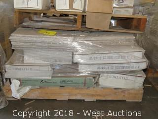 Pallet; (10+) Boxes of Assorted Tiles