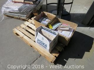 Pallet; (3) Boxes of Assorted Backsplash Tile Samples