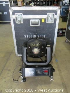 (2) Studio 575 Moving Spot in Portable Road Case