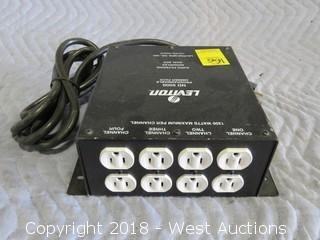 Leviton ND 5000 4 Channel Programmable Dimmer Pack