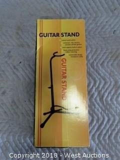 Metal Constructed Guitar Stand New in Box