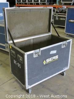 "Portable Road Case 21"" X 38"" X 27"""