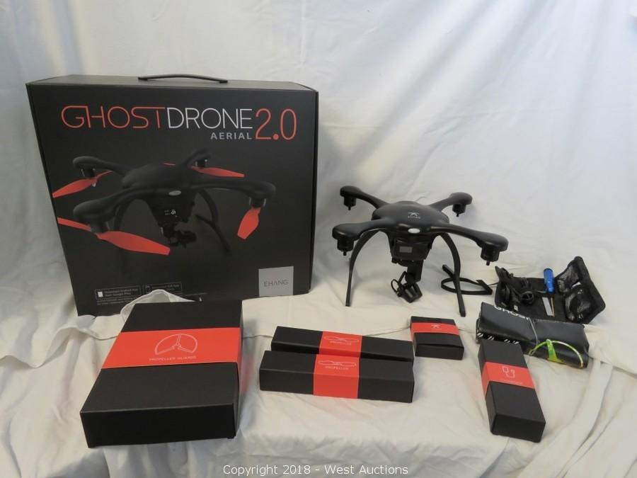 Bankruptcy Auction #1: EHANG Ghostdrones