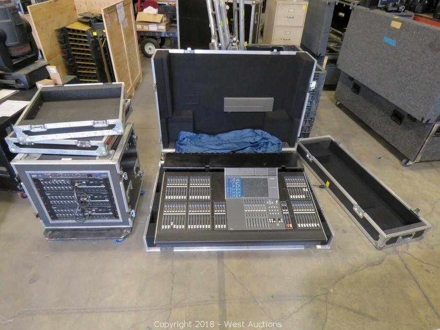 Auction of Audio, Video and Lighting Equipment