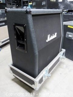 Marshall 1960A Slant with Road Case