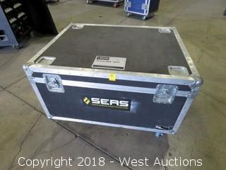 "Portable 43""w X 33""l X 27"" Tall Road Case"