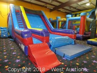 HEC Worldwide Inflatable 17' Single Lane Slide
