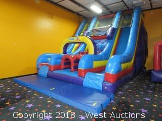 17' Vertical Rush Inflatable Bounce Slide