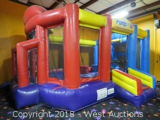 "HEC Worldwide ""Triple Threat"" Bounce House"