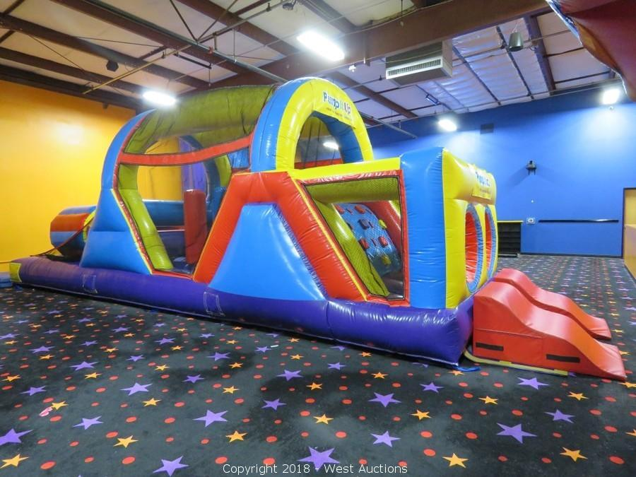 Liquidation of Commercial Bounce Houses and Restaurant Equipment