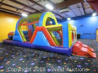 Ninja Jump Inc. Obstacle Course Bounce House