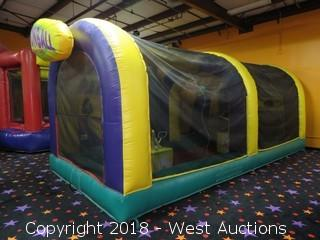 Cannonball Air Blaster Bounce House