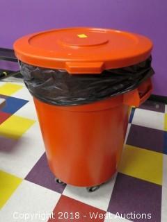Trash Bin on Casters