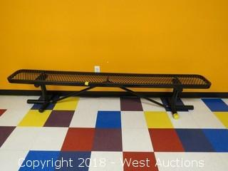 Global Industries 8' Metal Bench