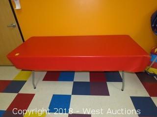 6' Lifetime Plastic Folding Table