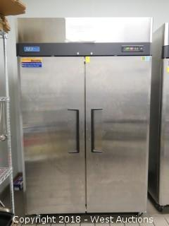 "Turbo Air 52"" Solid Door Reach-in Refrigerator"