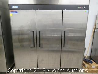"Turbo Air M3 Series 78"" Solid Door Reach-In Freezer"