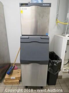 Scotsman Prodigy Ice Machine with Ice Bin