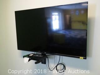 "42"" JVC Flatscreen TV with Blue-Ray 3D DVD Player"