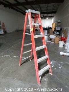 6' Louisville Fiberglass Ladder