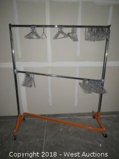 Display Rack with (50+) Hangers