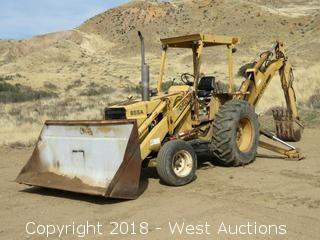Ford 655A Extend-A-Hoe Backhoe