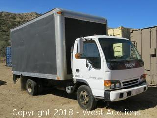 1996 Isuzu NPR Turbo Diesel 14' Box Truck with Lift Gate
