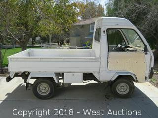 Mitsubishi 76P6 Gas Mini Truck