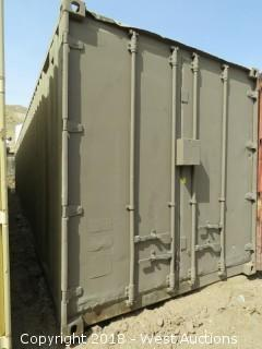 (1) 40' Sea Container