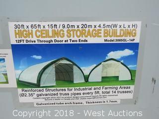 35'x65' High Ceiling Storage Building