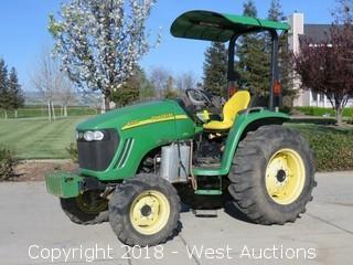 John Deere 4320 4X4 Tractor