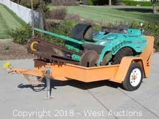 "Vermeer V2050 55"" Trencher with 2000 Best Utility Trailer"