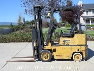 Caterpillar T30D Propane Forklift 3,000lb. Capacity
