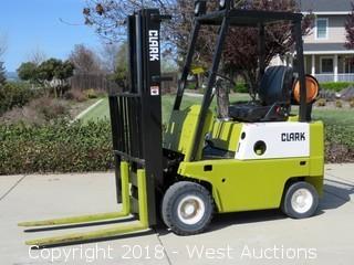 Clark Propane Forklift 3,000lb. Capacity