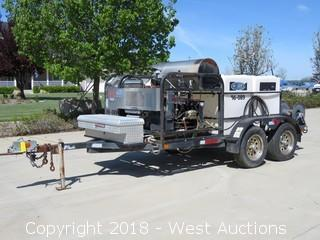 Easy-Clean Systems Trailer Mounted Steam Cleaner